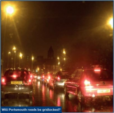 Will Portsmouth road be gridlocked?
